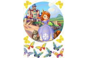 Съедобная картинка Принцесса София №10