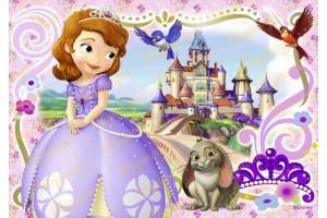 Съедобная картинка Принцесса София №11