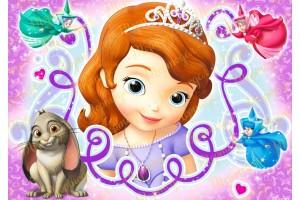 Съедобная картинка Принцесса София №8