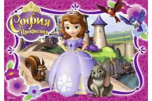 Съедобная картинка Принцесса София №6