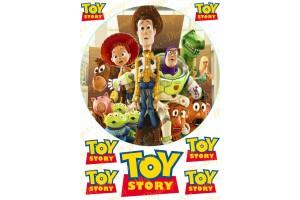 Вафельная картинка История игрушек №1