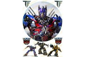 Вафельная картинка Трансформеры №5
