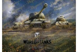 Съедобная картинка World of Tanks №4