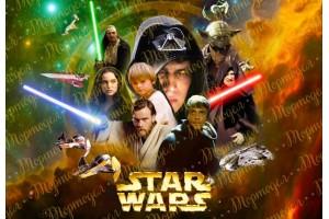 Съедобная картинка Звездные Войны №1