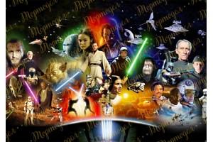 Съедобная картинка Звездные Войны №4