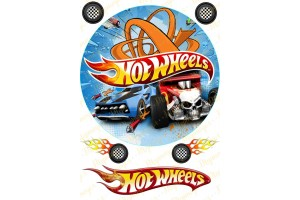 Съедобная картинка Hotwheels № 1