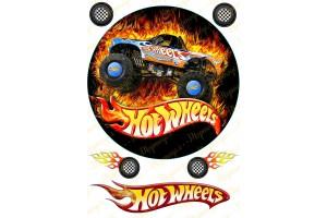 Съедобная картинка Hotwheels № 3