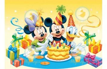 Съедобная картинка День Рождения №40