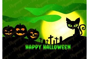 Съедобная картинка Хеллоуин №10