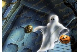 Съедобная картинка Хеллоуин №11
