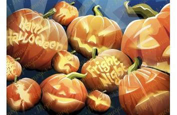 Съедобная картинка Хеллоуин №13