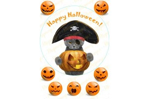 Съедобная картинка Хеллоуин №14