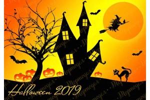 Съедобная картинка Хеллоуин №16