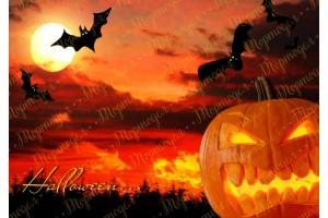 Съедобная картинка Хеллоуин №18