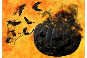 Съедобная картинка Хеллоуин №19
