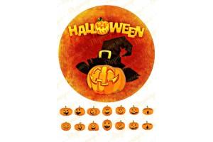 Съедобная картинка Хеллоуин №23