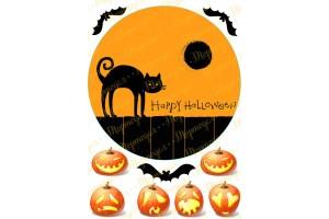 Съедобная картинка Хеллоуин №1