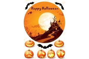 Съедобная картинка Хеллоуин №3