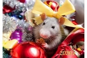 Вафельная картинка Новый год № 56