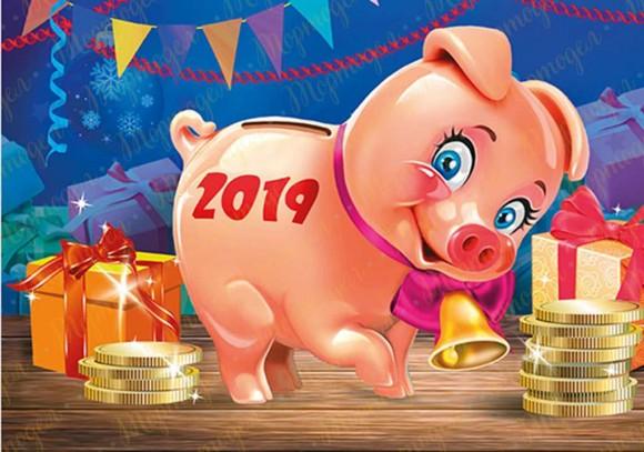 Вафельная картинка Новый год № 42. Купить вафельную или сахарную картинку Киев и Украина. Цена в интернет магазине Тортодел.