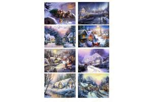 Картинка для маффинов и капкейков Новый Год №22