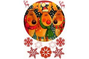 Вафельная картинка Новый год № 14