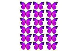 Вафельная картинка Бабочки №2
