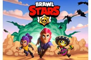 Вафельная картинка Brawl Stars №1