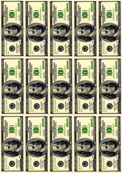 Вафельная картинка Деньги №3. Купить вафельную или сахарную картинку Киев и Украина. Цена в интернет магазине Тортодел.