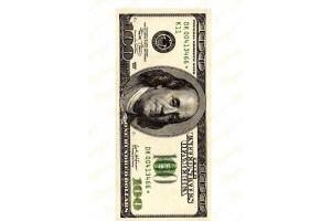 Вафельная картинка Деньги №15