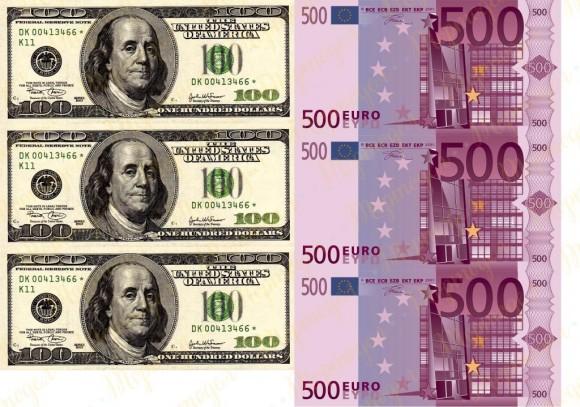 Вафельная картинка Деньги №8. Купить вафельную или сахарную картинку Киев и Украина. Цена в интернет магазине Тортодел.