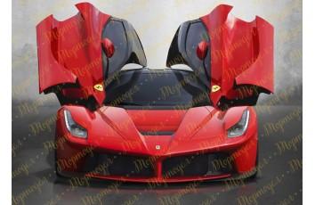 Съедобная картинка Ferrari №1