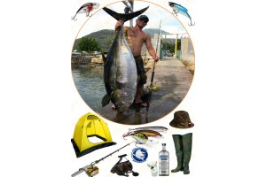 Съедобная картинка Рыбалка №3