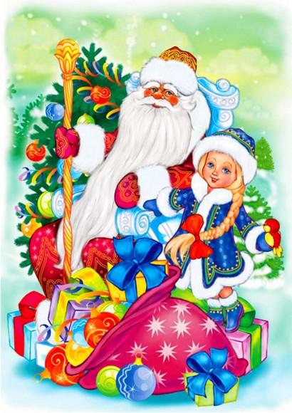 Вафельная картинка Новый год №59. Купить вафельную или сахарную картинку Киев и Украина. Цена в интернет магазине Тортодел.