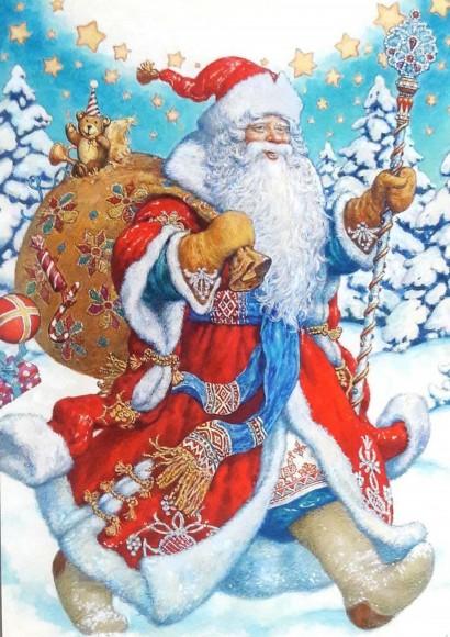 Вафельная картинка Новый год №60. Купить вафельную или сахарную картинку Киев и Украина. Цена в интернет магазине Тортодел.