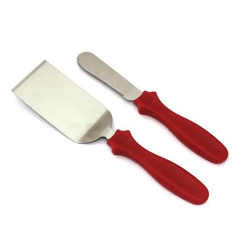 Набор из 2 ед шпатель + нож.Купить в Киеве,Харькове и Украине по лучшей цене в интернет магазине Тортодел