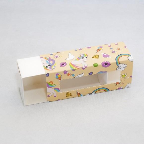 Коробка для Макаронс Единорог 141х59х49.Купить в Харькове,Киеве по лучшей цене в интернет- магазине Тортодел