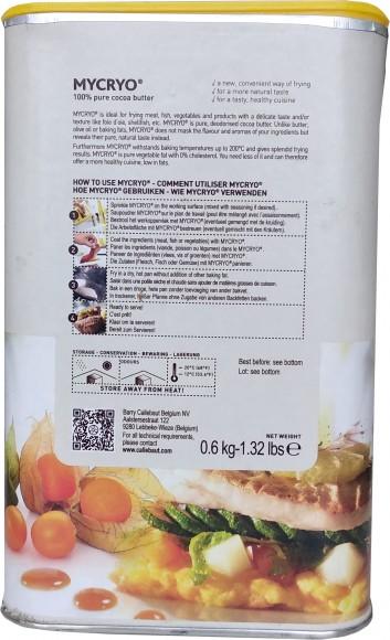 Какао масло Mycryo в виде порошка упаковка 600 г..Купить в Киеве,Харькове по лучшей цене в интернет магазине Тортодел