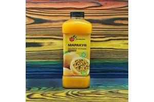 Маракуйя без косточки пюре пастеризованное (1кг) Ya Gurman