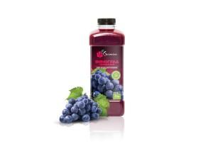 Виноград красный пастеризованое (1кг) Ya Gurman (Украина)