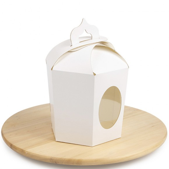 Коробка пасхальная 145х165х160 мм №8 Белая.Купить в Харькове,Киеве по лучшей цене в интернет- магазине Тортодел