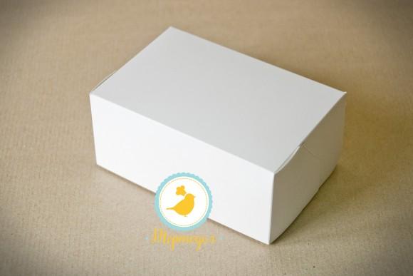 Коробка-контейнер для тортов, чизкейков, пирожных 180*120*80  мм белый.Купить в Харькове,Киеве по лучшей цене в интернет магазине Тортодел