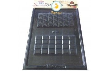 Молд пластиковый Плитка шоколада №2