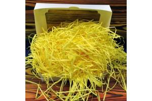 Наполнитель для коробок бумажный желтый