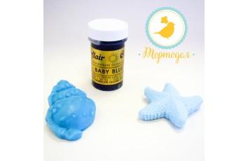Краситель пастообразный SugarFlair Baby Blue детский голубой
