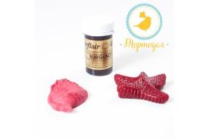 Краситель пастообразный SugarFlair Burgundy бордовый