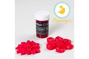 Краситель пастообразный SugarFlair CHERRY RED вишнево-красный