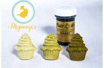 Краситель пастообразный SugarFlair Khaki хаки