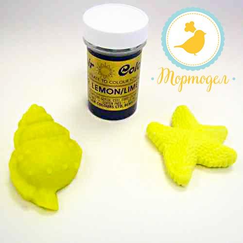 Краситель пастообразный SugarFlair  Bitter Lemon/Lime горький лимон/лайм. Купить в Киеве и Украине. Цена в интернет магазине Тортодел