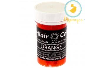 Краситель пастообразный SugarFlair ORANGE оранжевый